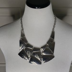 """""""Shattered"""" collar necklace"""